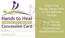 hands to heal massage therapy - the massage shop